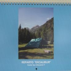 Disponibile calendario 2016 Reparto Excalibur