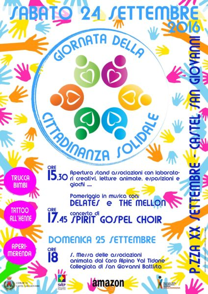 Giornata della Cittadinanza Solidale 2016
